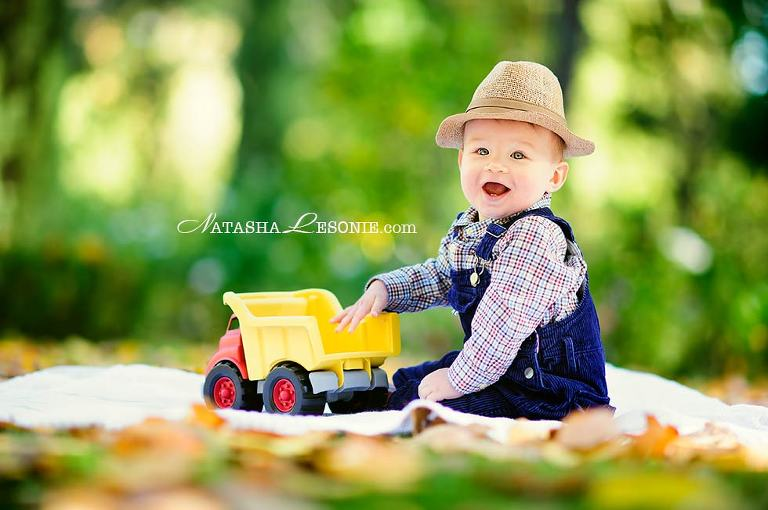 Happy little kid portrait - Sydney Photography