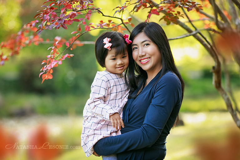 mum and baby daughter portrait photography session in Sydney