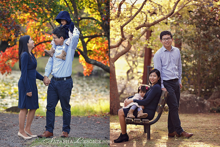 Family and kids portrait photography session in Sydney
